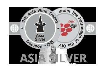Premio Asia Wine Trophy Silver